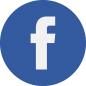 Facebookin logo ja linkki Lastenkirjainstituutin Facebook-sivulle.