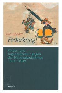 Federkrieg -kirjan kansi.