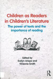 Children's as Reader in Children's Literature -kirjan kansi.