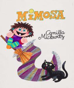 Illustration, Camilla Mickwitz, Mimosa.