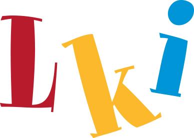 Lastenkirjainstituutin logo.