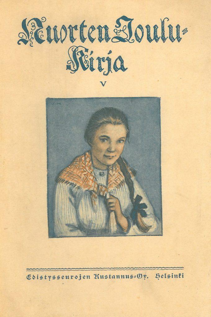 Kansikuva 1921. Nuori nainen.