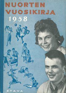 Kansikuva 1957. Nuori nainen ja mies.