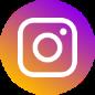 Instagram-logo ja linkki Lastenkirjainstituutin Instagram-tilille.