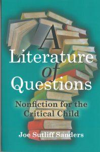 A Literature of Questions -kirjan kansi.