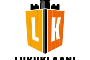 Lukuklaani-hankkeen logo, jossa lukee Lukuklaani - lisää lukemista.
