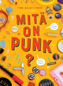 Mitä on punk? -kirjan kansikuva.
