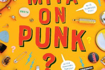 Mitä on punk? -kirjan kansi.
