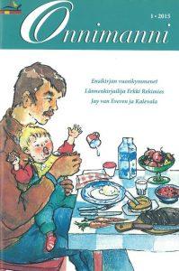 Onnimanni-lehden kansi 1/2013.
