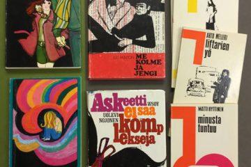 Nuortenkirjoja 1970-luvun taitteesta.