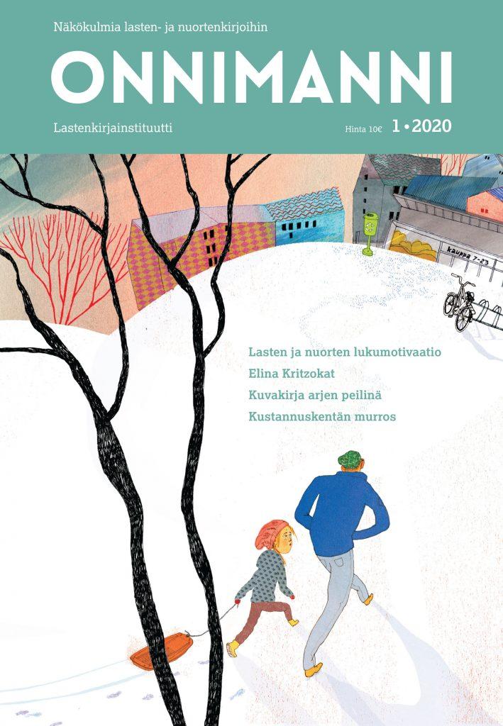 Onnimanni-lehden 1/2020 kansi.