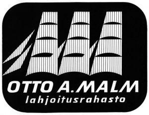 Otto A. Malmin rahaston logo.