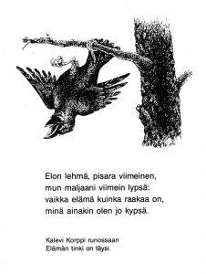 Kortti: Jyrki Vuori, Korppi.
