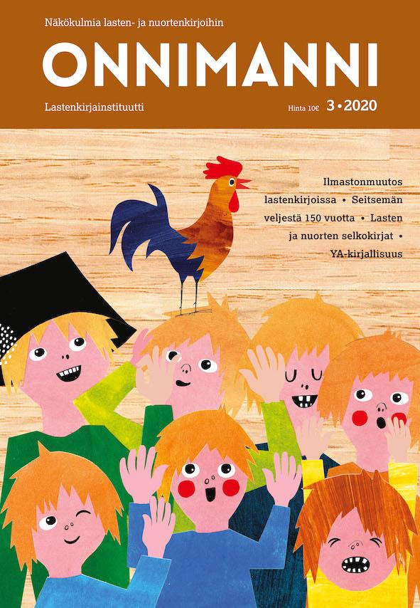 Onnimanni-lehden kansi 3/2020.