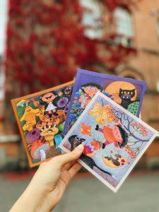 Kuvituskuva Mimosa-korteista.