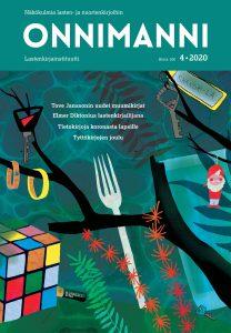 Onnimanni-lehden 4/2020 kansi.