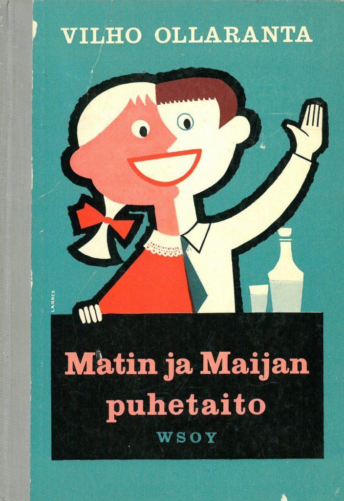 Kansi tietokirjaan Matin ja Maijan puhetaito