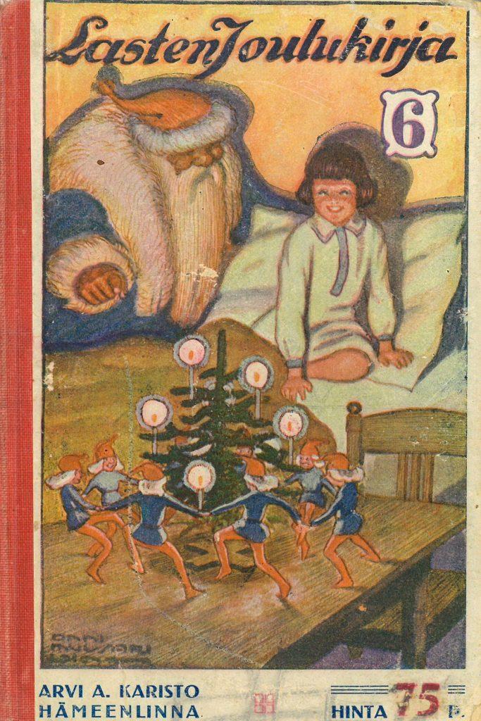 Kansi teokseen Lasten joulukirja 6