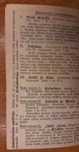 Mainos kirjassa Tieteen satumaailma.