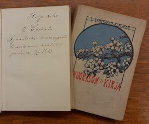 Omistuskirjoitus teoksessa Nuorison kirja.